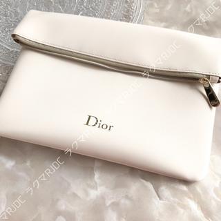 クリスチャンディオール(Christian Dior)の【新品箱なし】ディオール スリムポーチ クラッチバッグ 折りたたみ 非売品(クラッチバッグ)