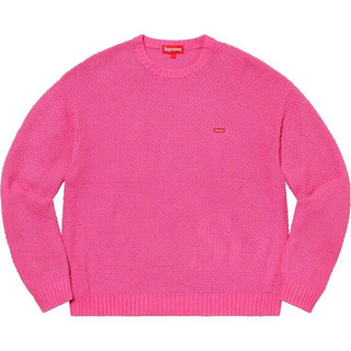 シュプリーム(Supreme)の込み SUPREME Textured Small Box Sweater L(ニット/セーター)