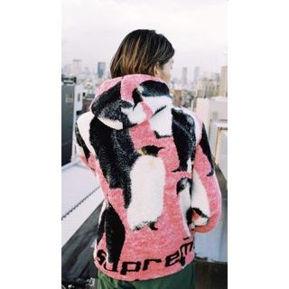 シュプリーム(Supreme)のSUPREME Penguins Hooded Fleece Jacket L(その他)