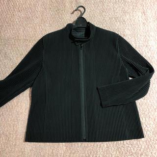 イッセイミヤケ(ISSEY MIYAKE)のHOMME PLISSE ISSEY MIYAKE ライダースジャケット(Tシャツ/カットソー(七分/長袖))