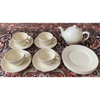 アフタヌーンティー(AfternoonTea)のAfternoon tea ティーカップ&ソーサー4客ケーキ皿4枚・ポット(グラス/カップ)