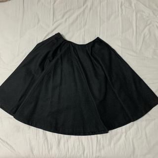 バーニーズニューヨーク(BARNEYS NEW YORK)のYOKO CHAN フレアスカート 未使用品(ひざ丈スカート)