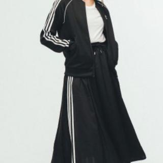 アディダス(adidas)の匿名♡アディダス♡レディースオリジナルス♡スカート [SKIRT]M黒(ロングスカート)