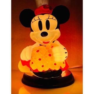 ディズニー(Disney)の【 入手困難 】Disney × TOYBOX  ミニーマウス  テーブルランプ(テーブルスタンド)