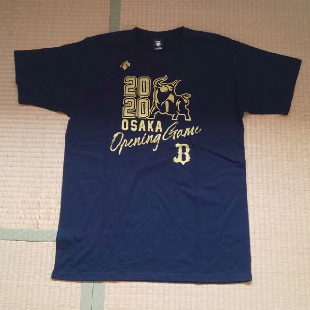 オリックス・バファローズ(オリックスバファローズ)のオリックス・バファローズ、記念Tシャツ。 スポーツ/アウトドアの野球(応援グッズ)の商品写真
