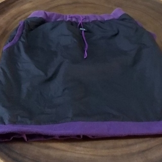 クイックシルバー(QUIKSILVER)のクィックシルバー スカート フリース 防寒 アウトドア キャンプ(ひざ丈スカート)