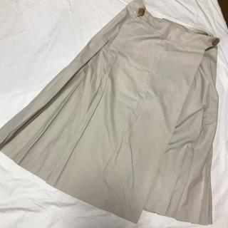 マーガレットハウエル(MARGARET HOWELL)のMARGARET HOWELL プリーツスカート(ひざ丈スカート)