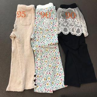 キムラタン(キムラタン)の90 レギンス ズボン 女の子 スカッツ セット(パンツ/スパッツ)
