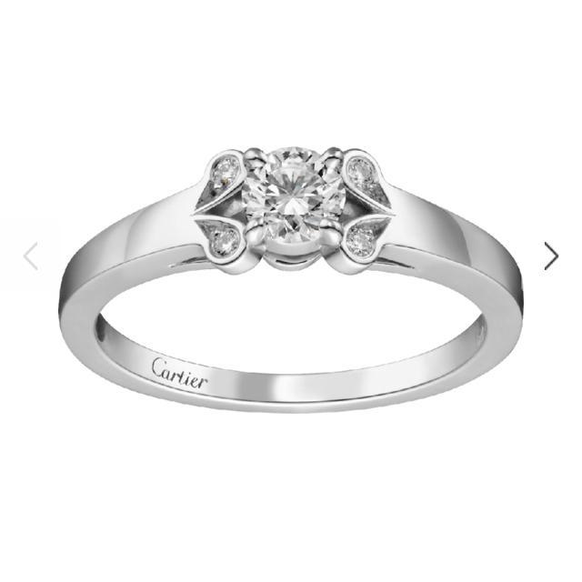 Cartier(カルティエ)の最終値下⭐︎カルティエ バレリーナ ダイヤモンドリング 50 レディースのアクセサリー(リング(指輪))の商品写真