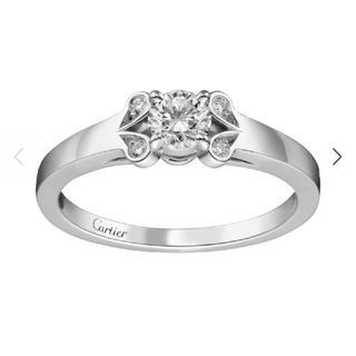 Cartier - カルティエ バレリーナ ダイヤモンドリング 50