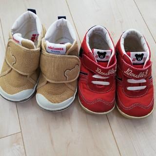 ミキハウス(mikihouse)のミキハウス 靴 シューズ 14.5(スニーカー)
