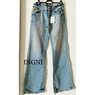 イング(INGNI)の新品★イング INGNI★デニムパンツ★ジーンズ★S(デニム/ジーンズ)