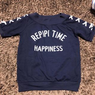 レピピアルマリオ(repipi armario)のレピピアルマリオ S トレーナーTシャツ 150(Tシャツ/カットソー)