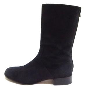 ラルフローレン(Ralph Lauren)のラルフローレン ショートブーツ 7 C 黒(ブーツ)