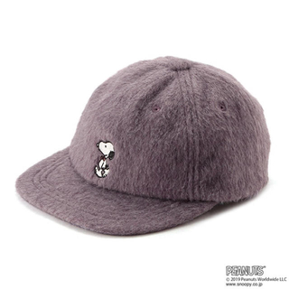 プティマイン(petit main)のプティマイン PEANUTSコラボ キャップ(帽子)