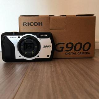 リコー(RICOH)の美品 リコー G900 防水 防塵(コンパクトデジタルカメラ)