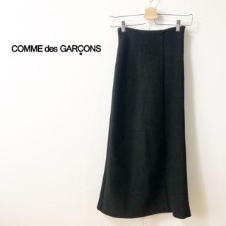 コムデギャルソン(COMME des GARCONS)の【COMMEdesGARCONS】異素材ドッキング タイトロングスカート S(ロングスカート)