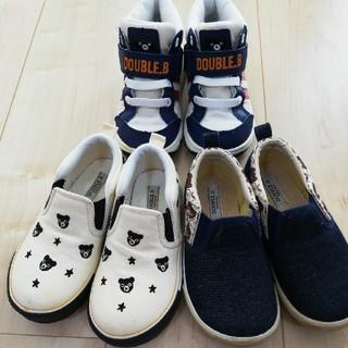 ミキハウス(mikihouse)のミキハウス 靴 シューズ 16.0 セット(スニーカー)
