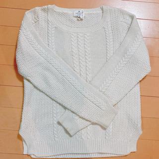 ランバンオンブルー(LANVIN en Bleu)の【専用商品】ランバンオンブルー セーター オフホワイト(ニット/セーター)