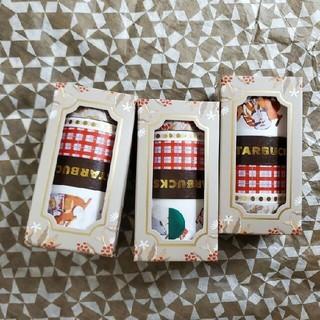 スターバックスコーヒー(Starbucks Coffee)の韓国 スタバ スターバックス オータム マスキングテープ マステ 新品(テープ/マスキングテープ)