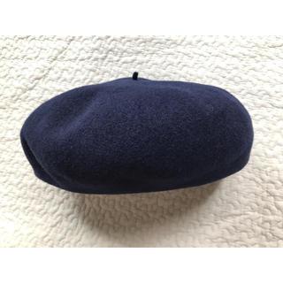 ビューティアンドユースユナイテッドアローズ(BEAUTY&YOUTH UNITED ARROWS)のビューティーアンドユース ベレー帽 ネイビー(ハンチング/ベレー帽)