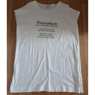 ジーナシス(JEANASIS)のジーナシス試着のみ(Tシャツ(半袖/袖なし))