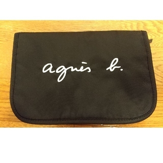 agnes b. - アニエスb 母子手帳ケース 黒