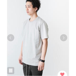 アタッチメント(ATTACHIMENT)のアタッチメント Tシャツ グレー(Tシャツ/カットソー(半袖/袖なし))