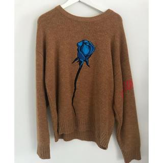 ユニフ(UNIF)のunif Blue rose Knit(ニット/セーター)