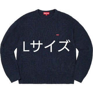 シュプリーム(Supreme)のSupreme20FW Textured small Box Sweater L(ニット/セーター)