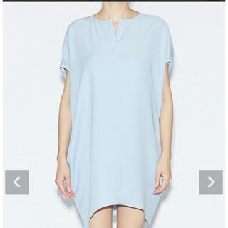 バーニーズニューヨーク(BARNEYS NEW YORK)のyokochan Dolman-sleeve Dress(ミニワンピース)