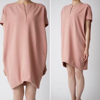 バーニーズニューヨーク(BARNEYS NEW YORK)のyokochan Dolman-sleeve Dress pink(ミニワンピース)