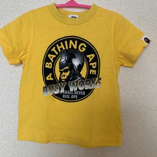 A BATHING APE - ベイプキッズ Tシャツ