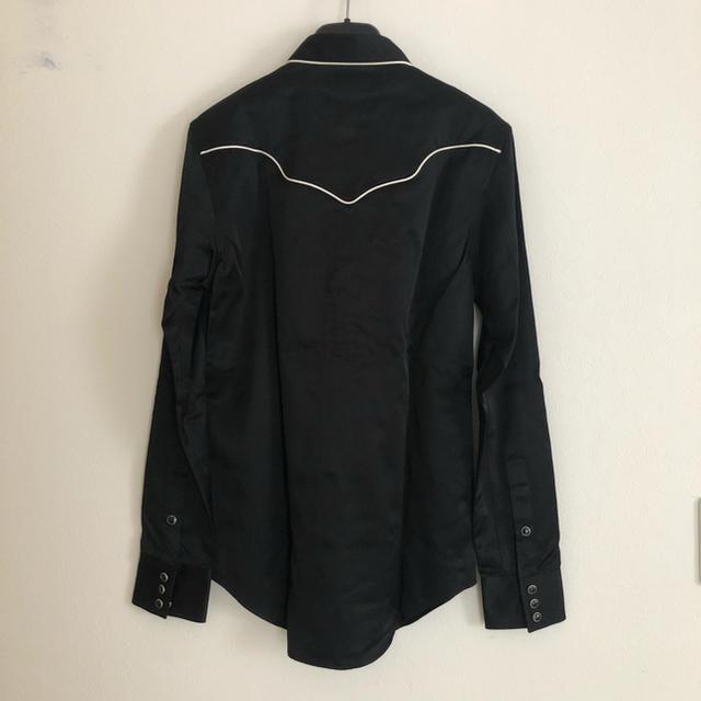 Saint Laurent(サンローラン)の新品!SAINT LAURENT スリムロックシャツ 定価16.7万円 サイズM メンズのトップス(シャツ)の商品写真