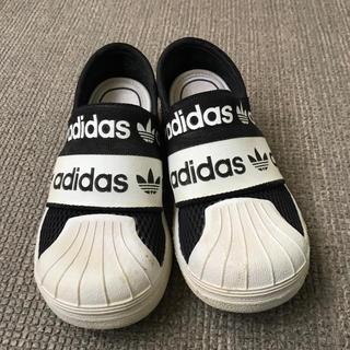 アディダス(adidas)のアディダスオリジナルスリッポン キッズ(スリッポン)
