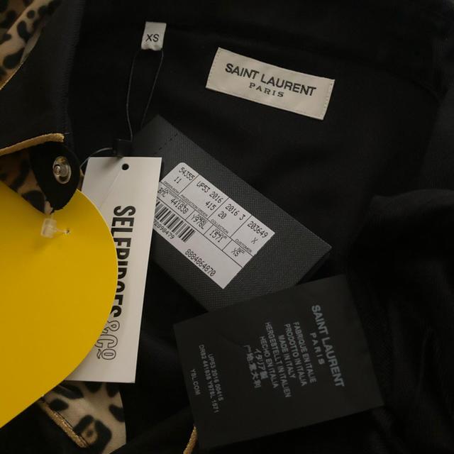 Saint Laurent(サンローラン)の新品!SAINT LAURENT レオパードスリムロックシャツ 定価12.9万円 メンズのトップス(シャツ)の商品写真