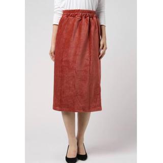 Dot&Stripes CHILDWOMAN - ドットアンドストライプス ニットコールウエストゴムタイトスカート