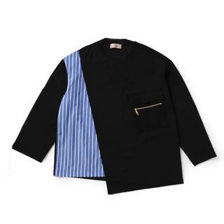 ステュディオス(STUDIOUS)のCULLNI アシンメトリースリットロンT (Tシャツ/カットソー(七分/長袖))