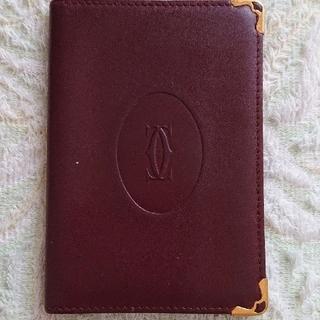 カルティエ(Cartier)のカルティエ 手帳カバー パスケース、名刺入れにも…(名刺入れ/定期入れ)