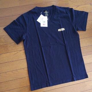 ネスタブランド(NESTA BRAND)のNESTA  VネックTシャツ 【黒】(Tシャツ/カットソー(半袖/袖なし))