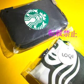 スターバックスコーヒー(Starbucks Coffee)の【匿名配送!新品】スターバックス★エコバッグ2個セット(その他)