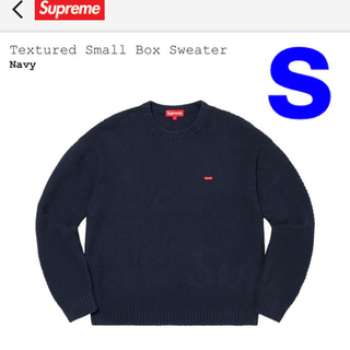シュプリーム(Supreme)のTextured Small Box Sweater Navy supreme (ニット/セーター)