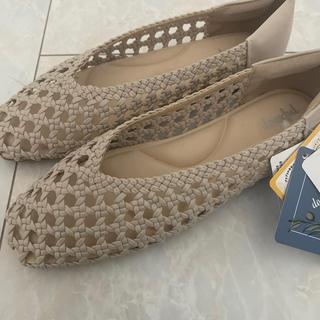 シマムラ(しまむら)の新品タグあり プチプラのあや しまむらアミコミ靴(その他)