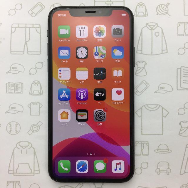 iPhone(アイフォーン)の【A】iPhoneX/256/353022092469383 スマホ/家電/カメラのスマートフォン/携帯電話(スマートフォン本体)の商品写真