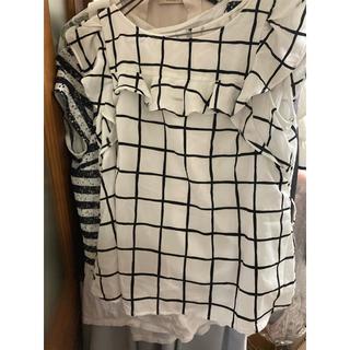 リランドチュール(Rirandture)のリランドチュール ブロックトップス(シャツ/ブラウス(半袖/袖なし))