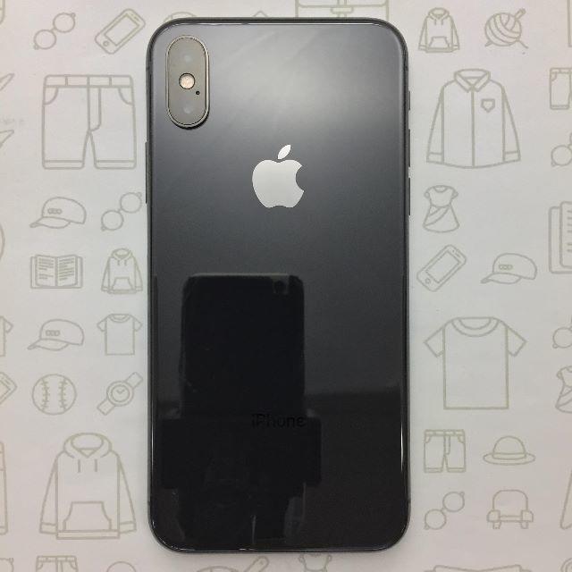 iPhone(アイフォーン)の【A】iPhoneX/256/356738088898403 スマホ/家電/カメラのスマートフォン/携帯電話(スマートフォン本体)の商品写真