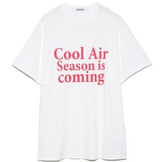 スナイデル(snidel)のロゴBIGTシャツ(Tシャツ(半袖/袖なし))