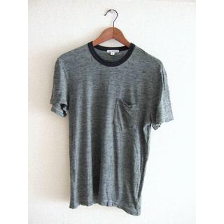 ジェームスパース(JAMES PERSE)のJAMES PERSE ジェームスパース リンガー ポケットTシャツ カットソー(Tシャツ/カットソー(半袖/袖なし))