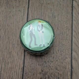 缶バッジ付きマスキングテープ アインシュタイン(お笑い芸人)