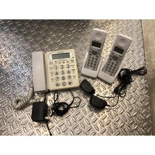 パイオニア(Pioneer)のgoma様専用 電話 コードレス 子機 2台 動作確認済(その他)